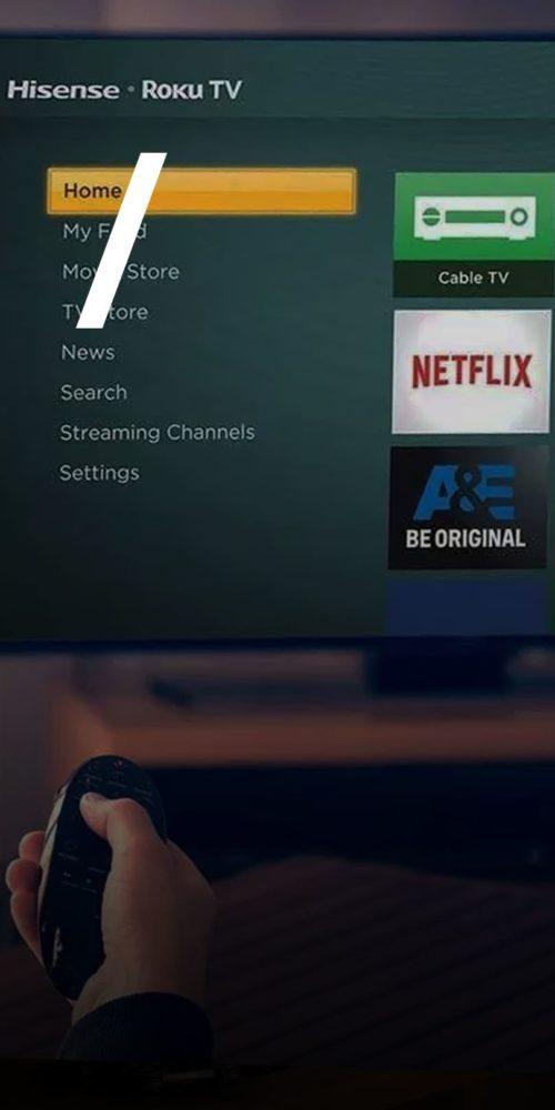 anúncios em Smart TV